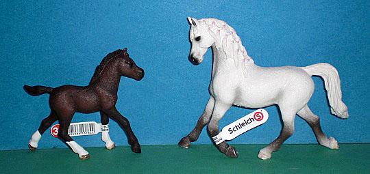Appaloosa Pferd Pferde Hengst Stute Wallach Fohlen Jährling Set Schleich